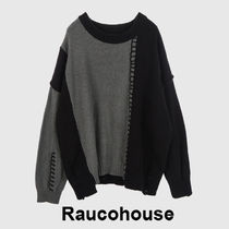 Rarucohouse vintage rough damage knitwear