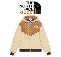 Gucci x The North Face GGロゴフリース