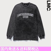 【LMC】LMC ACID WASHED ARCH FN L/S Tシャツ