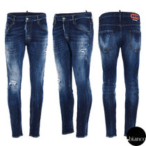 関税込DSQUARED2 2021SS Medium 4 Wash Skater Jeans デニム