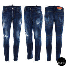 関税込DSQUARED2 2021SS Medium 4 Wash Tidy Biker Jeans デニム