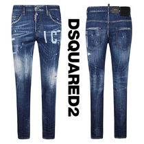 DSQUARED2(ディースクエアード) SKATER JEANS ICON ペイント