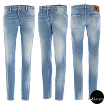 関税込DSQUARED2 2021SS Light & Clean Wash Slim Jeans デニム