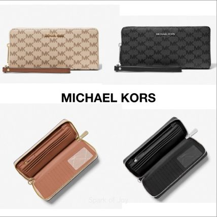 Michael Kors★Jet Set Large Logo Continental Wallet★ロゴ