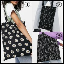 ASOS DESIGN large cotton shopper