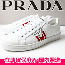 即納品 PRADA new avenue leather sneakers