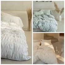 【DECO VIEW】French Shirring blanket cover+Pillowcase-SS