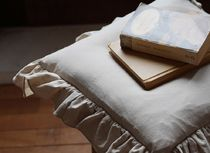 【DECO VIEW】NEW Linen Frill Table Chair Cushion Cover