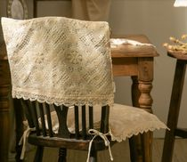 【DECO VIEW】Table Chair Cushion Cover back of a chair cover