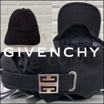 GIVENCHY 21SS M.Williamsコラボ 4Gロゴ キャンバス キャップ