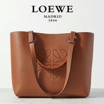 ∞∞ LOEWE ∞∞ Anagram small textured-leather トート☆