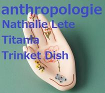 ♪antropologie♪Nathalie Lete 手小皿♪ショパー付き♪us即発♪