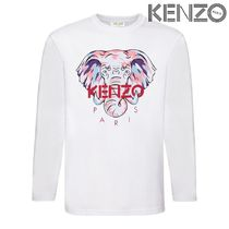 KENZO ロンT エレファント ロゴ 4-14歳 国内発送