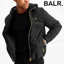 SALE!!!あったか【BALR.】STRAIGHT PADDED JACKET BLACK