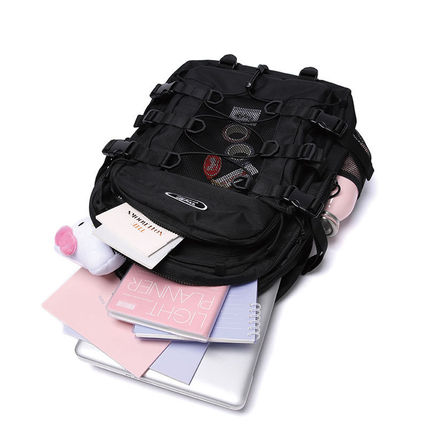 Daylife バックパック・リュック ★2021 新商品★ [DAYLIFE] DOUBLE STRING Backpack デイライフ(6)
