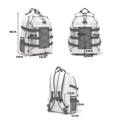 Daylife バックパック・リュック ★2021 新商品★ [DAYLIFE] DOUBLE STRING Backpack デイライフ(7)