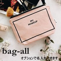 Bag all(バッグオール) メイクポーチ 【bag-all】関送込 MY MAKEUP メイクポーチ ピンク