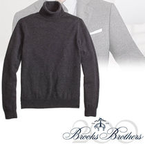 BROOKS BROTHERS Turtleneck Cashmere Sweater  charcoal