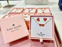 【kate spade】箱付き・ピアス&ペンダントセット☆ハート