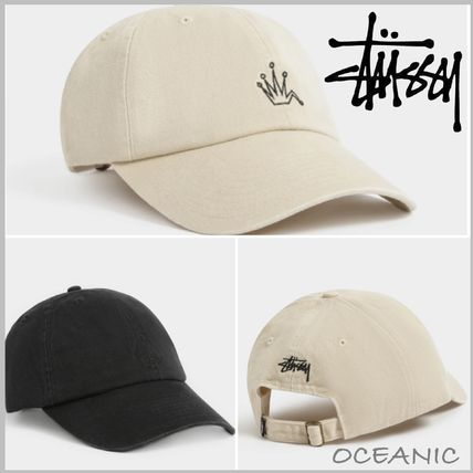 【Stussy】大人気☆Embroidered Crown Stock Low Pro キャップ