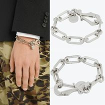 ★GIVENCHY★真鍮*リンクチェーンブレスレット*Silver
