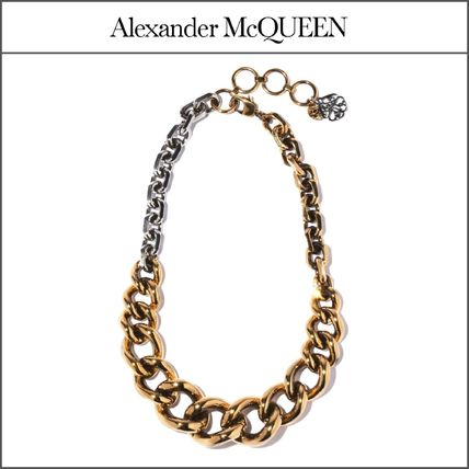 【Alexander McQueen】チャンキーチェーンネックレス '関税込み'