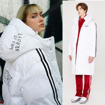 NERDY★ NY Track Long Down Jacket White ユニセックス