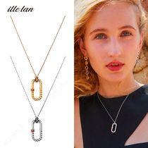 ille lan★PLUCKY NECKLACE/キュービックジルコニア ネックレス