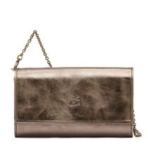 IL BISONTE CONTINENTAL  GIULIA IN COWHIDE LEATHER C1133財布