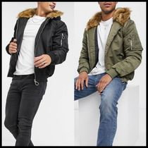 ASOS The Couture Club Dakota faux fur lined bomber jacket
