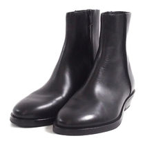 COS(コス) ブーツ COS::ZIPPED LEATHER BOOTS:EUR43[RESALE]