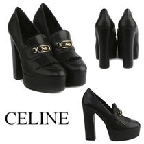CELINE MELODY PLATFORM LOAFERS IN CALFSKIN