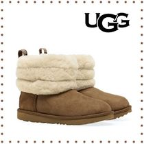 【UGG】関送込 大人もOK♪ FLUFF MINI QUILTED ブーツ