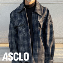 ASCLO Wool Square Shirt Jacket (2color)