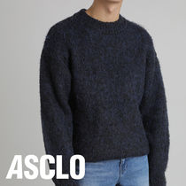 Min Wool Mohair Round Knit (3color)