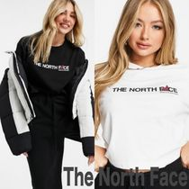 ■The North Face■レター クロップド Tシャツ(送関税込)