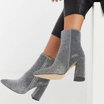 ASOS London Rebel pointed heeled ankle boot