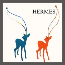 ☆HERMES☆小鹿のバッグチャーム Fawn charm