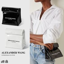 ALEXANDER WANG - ランチバッグ ロゴクラッチバッグ 関税送料込