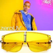 zeroUV(ゼロユーブイ) サングラス zeroUV*BoldCurved Color TintedLens Premium MetalAccentShield