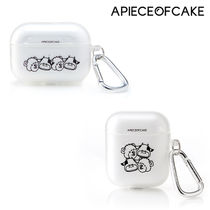 ★A PIECE OF CAKE★送料込み★韓国 大人気 Clear AIRPODS Case