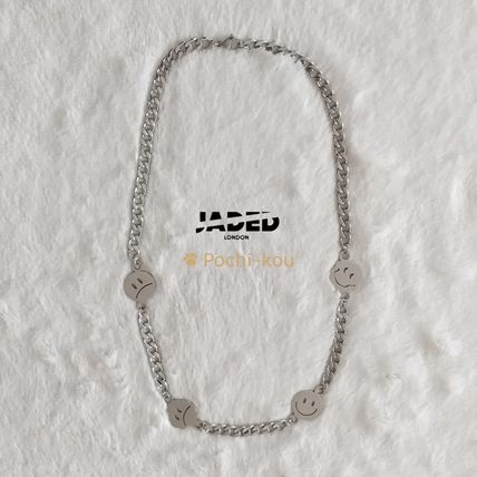 JADED LONDON SMILEY FACE CHAIN スマイル チェーン ネックレス