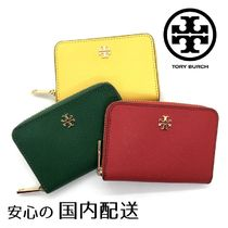 Tory Burch☆EMERSON ZIP COIN CASE キーリング付き☆送料込