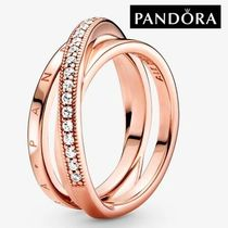 【PANDORA】日本よりお得に!Crossover Pave Triple Band Ring♪