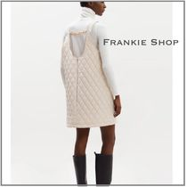 THE FRANKIE SHOP QUILTED CHAIN BACK キルト ワンピース