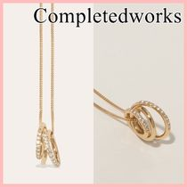 Completedworks Flow ホワイトトパーズ ネックレス gold 送料込