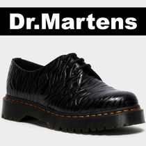 COOL 1461 BEX ZEBRA EMBOSS LEATHER OXFORD SHOES Dr.Martens