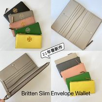 21年春新作 TORY BURCH★Britten Slim Envelope Wallet 長財布