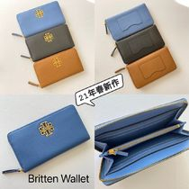 21年春新作 TORY BURCH★Britten Zip Continental 長財布