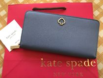 Kate Spade★Adel Large Continental Wallet★ブルーベリー